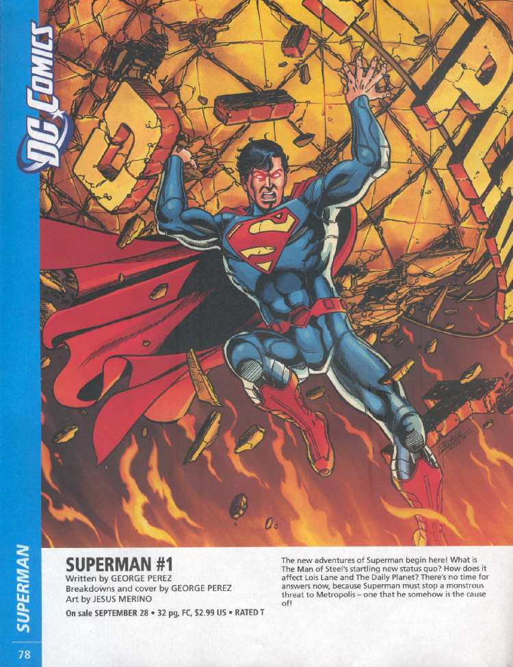 SUPERMAN #1 (PREVIEWS)