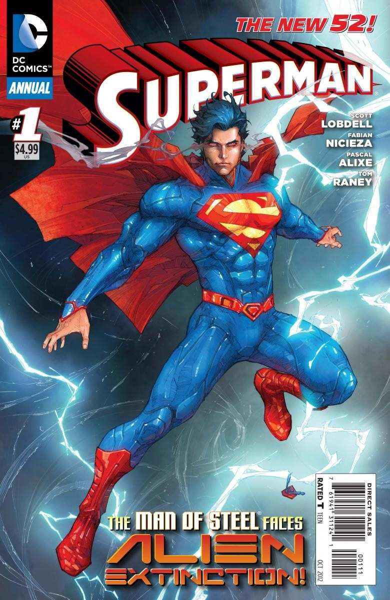 SUPERMAN ANNUAL #1