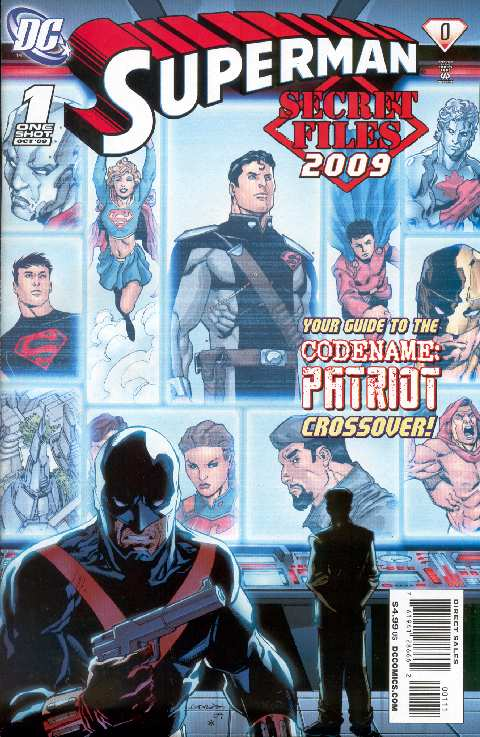SUPERMAN SECRET ORIFINS 2009