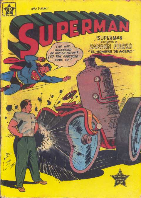 SUPERMAN NOVARO #1