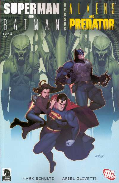 SUPERMAN & BATMAN VS. ALIENS & PREDATORS 2