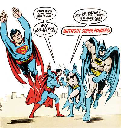 SAGA OF THE SUPER SONS