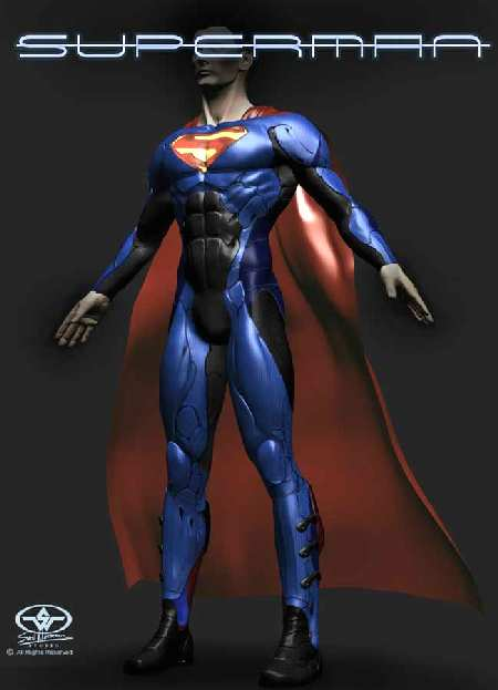 SUPERMAN DESIGN 1