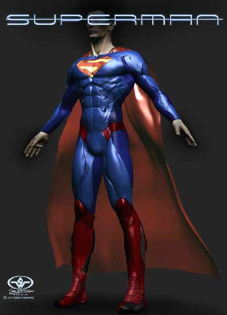 SUPERMAN DESIGN 2
