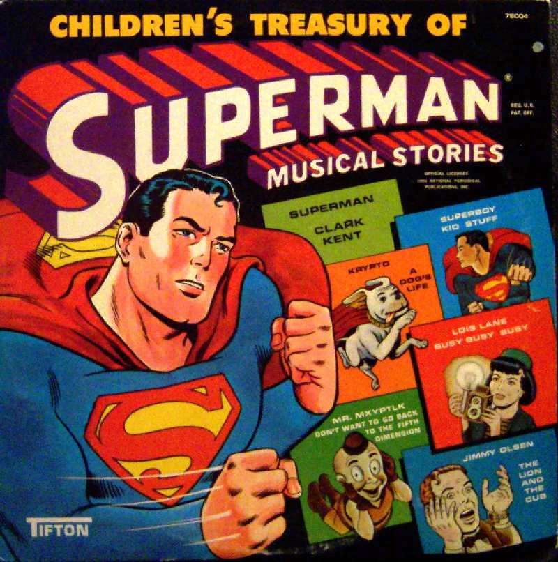 ALBUM SUPERMAN MUSICAL
