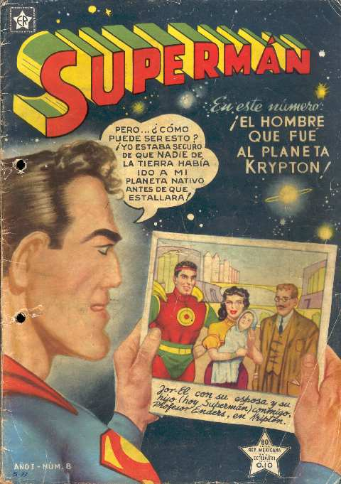 SUPERMAN NOVARO #8