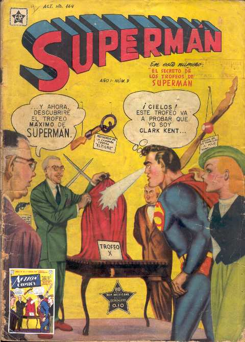 SUPERMAN NOVARO #9