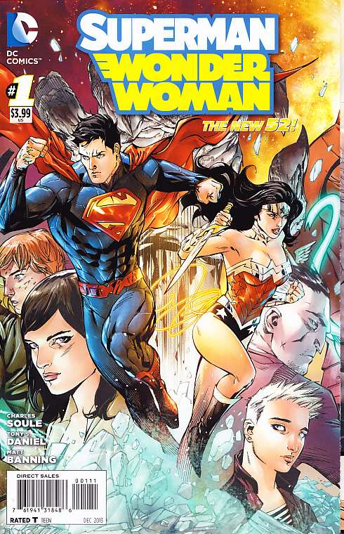 SUPERMAN WONDER WOMAN 1