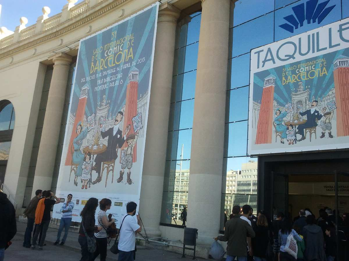SALON INTERNACIONAL DEL COMIC DE BARCELONA