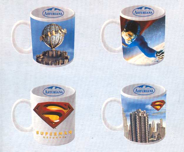 SUPERMAN RETURNS TAZA