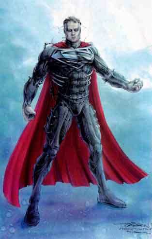 SUPERMAN TIM BURTON