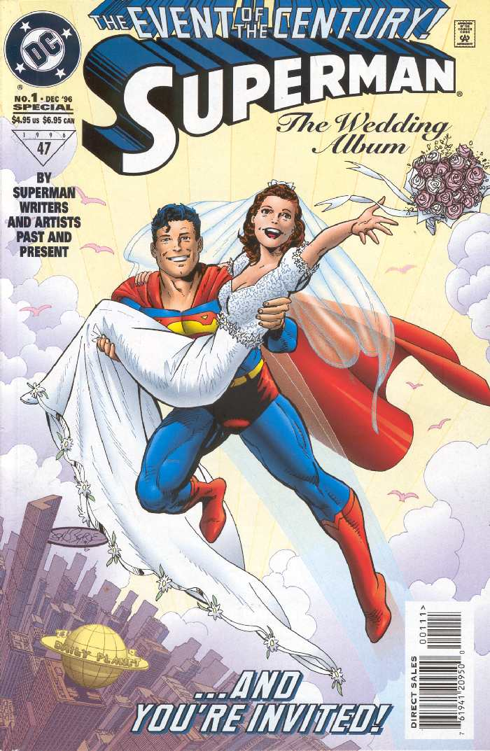SUPERMAN THE WEDDING ALBUM