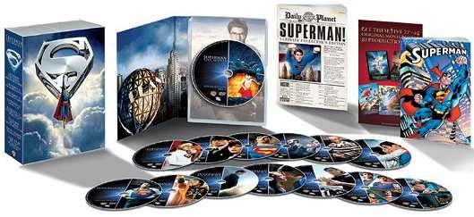 SUPERMAN 14 DVDs PACK