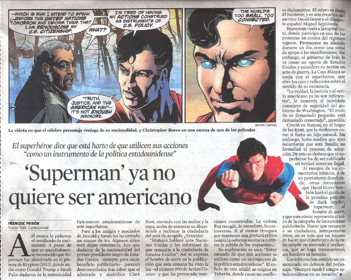 LA VANGUARDIA 30 DE ABRIL DE 2011