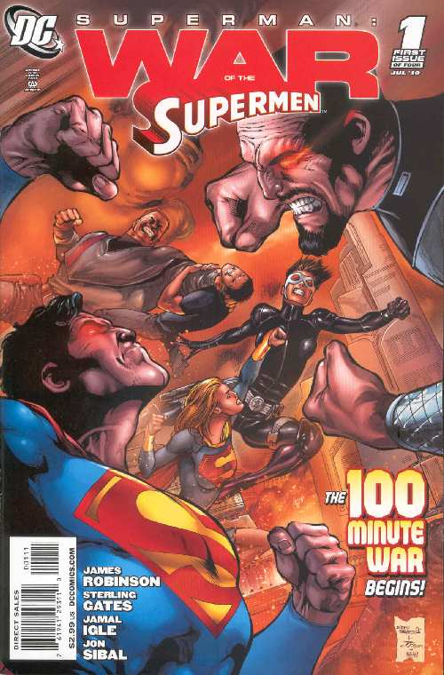 WAR OF THE SUPERMEN #1