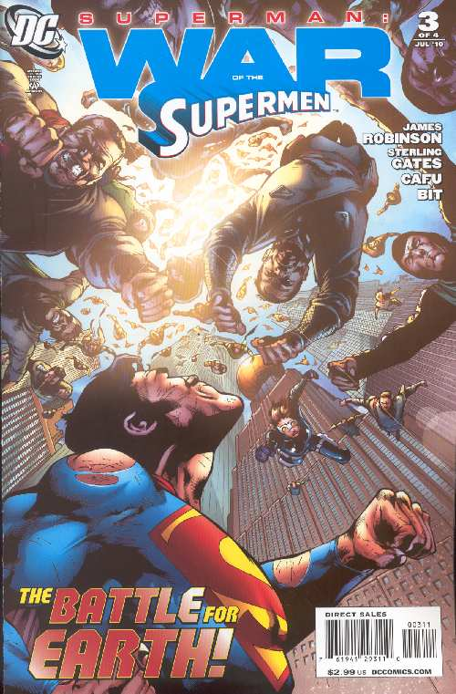WAR OF THE SUPERMEN #3