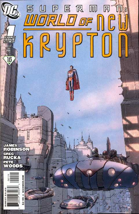 THE WORLD OF NEW KRYPTON #1