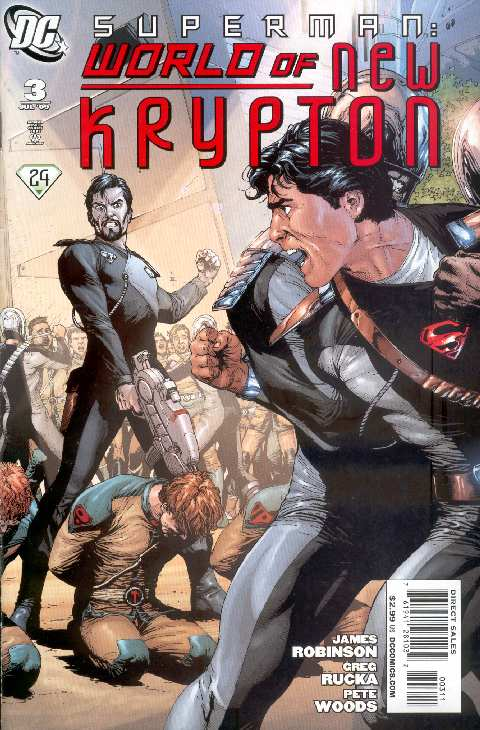 WORLD OF NEW KRYPTON #3