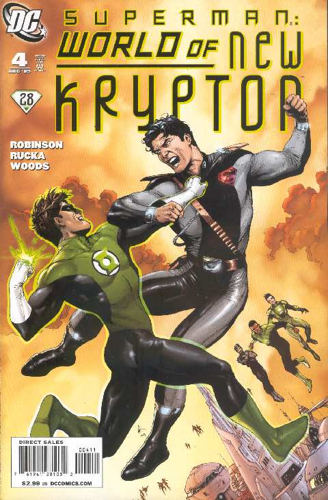 WORLD OF NEW KRYPTON #4