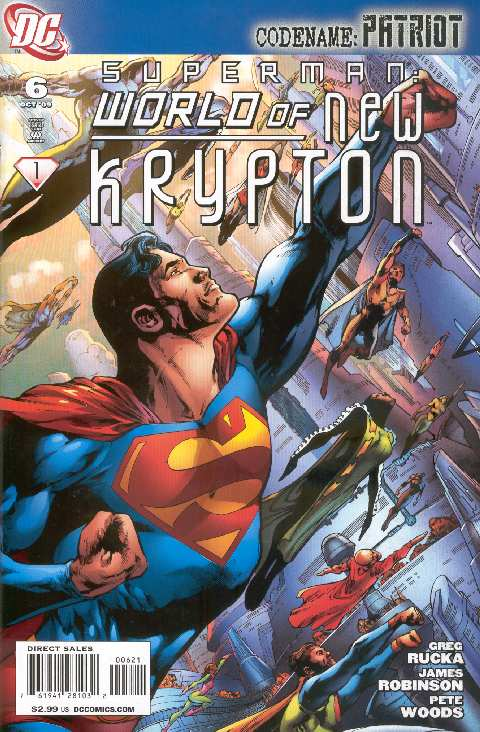 WORLD OF NEW KRYPTON #6