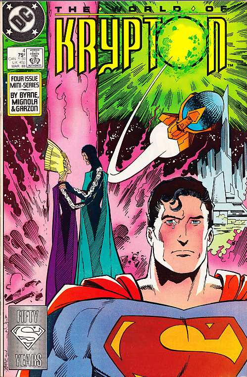 THE WORLD OF KRYPTON