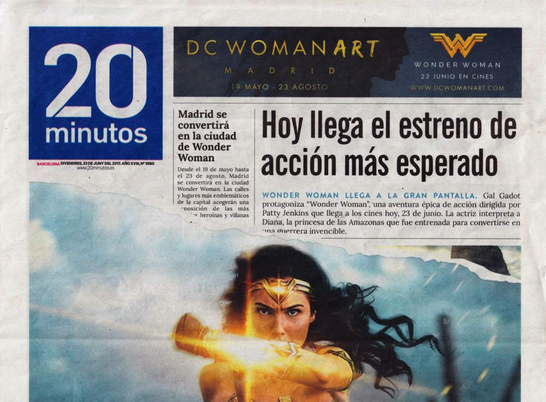 WONDER WOMAN ES GAL GADOT