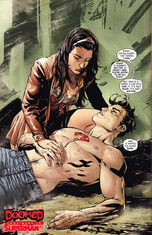 SUPERMAN-WONDER WOMAN